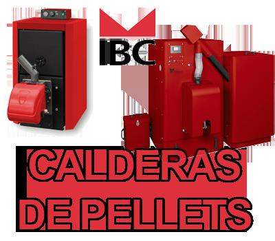 Calderas de pellets ibc espa a calefacci n calderas for Caldera de pellets para radiadores