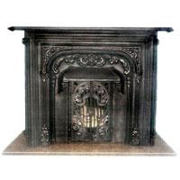 foto chimeneas de hierro fundido